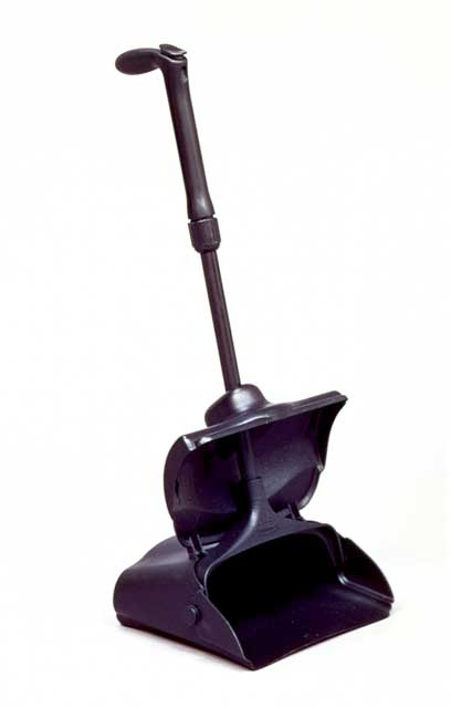 Dustpan with Cover and Grip Handle #RB002533NOI