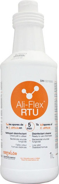 ALI-FLEX RTU Chlorinated Disinfectant Cleaner Ready to Use. Kills C. difficile spores in 5 minutes #LM009675121