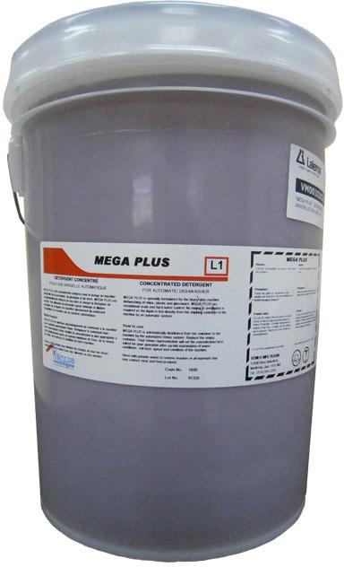 Top Détergent concentré pour lave vaisselle automatique MEGA PLUS  AR52