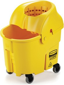 Institutional Bucket & Wringer Combo WaveBrake, 8.75 gal #RB759088JAU