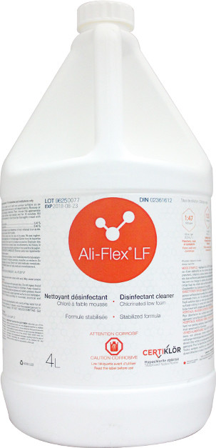 Chlorinated Low Foam Disinfectant Cleaner ALI-FLEX LF #LM0096254.0