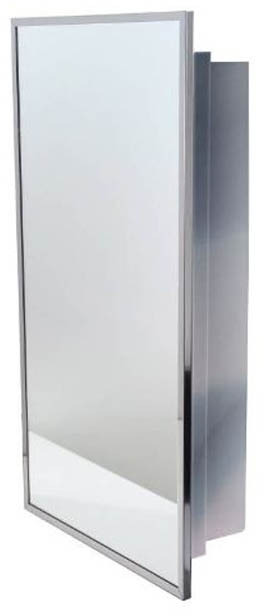 Armoire pharmacie en acier inoxydable avec miroir for Miroir montreal