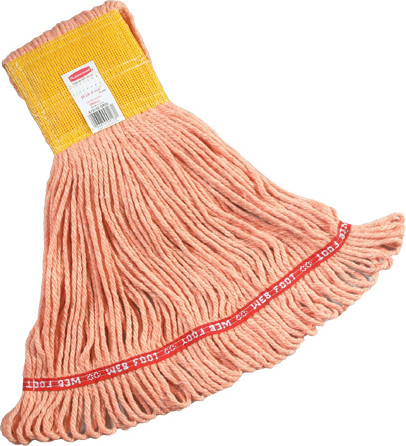 Web Foot Wet Mop, Wide Band #RBA15106ORA