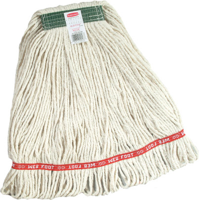 Narrow Band Super Stitch Cotton Looped End Wet Mop #RBD11106BLA