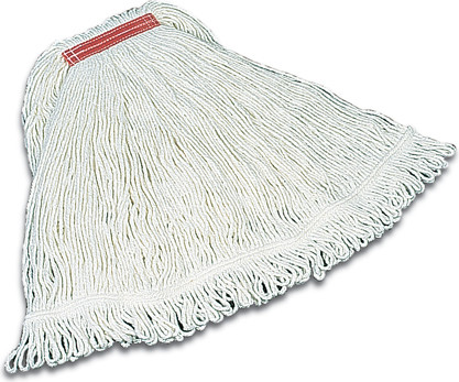 Narrow Band Super Stitch Rayon Looped End Wet Mop #RBD41206BLA