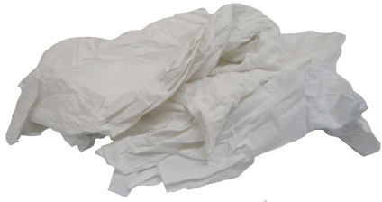 White Cotton Wool Rag 25 lb #WISXW25C000