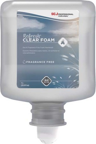 Savon à mains en mousse REFRESH CLEAR FOAM #DB0CLR1L000