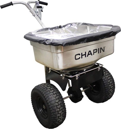 100 lbs Stainless Steel Professional Salt Spreader 82500 #CH082500000