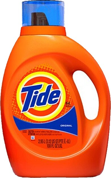 Tide Original Scent Liquid Laundry Detergent, 100 oz #PG008886000