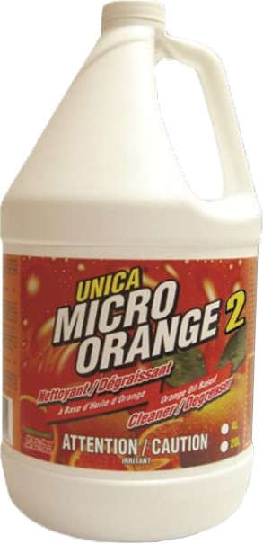 Antibacterial Orange Oil Base Cleaner Degreaser MICRO-ORANGE 2 #QC00NMIC204