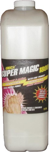 Lotion Hand Cleaner with Fibe Pumice UNICA SUPER MAGIC 1800 #QCS18010000