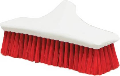 "Push Broom with Polypropylene Fibers 24"" PERFEX #PX002524ROU"