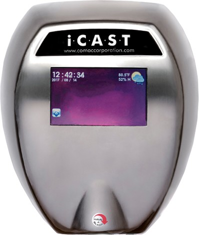 Smart Hand Dryer iCast COMAC #NVC40022000