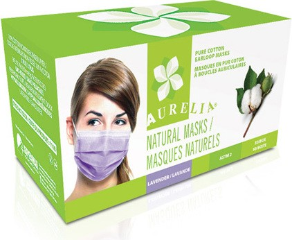 Natural Procedure Earloop Masks 100% Cotton #SE111800000