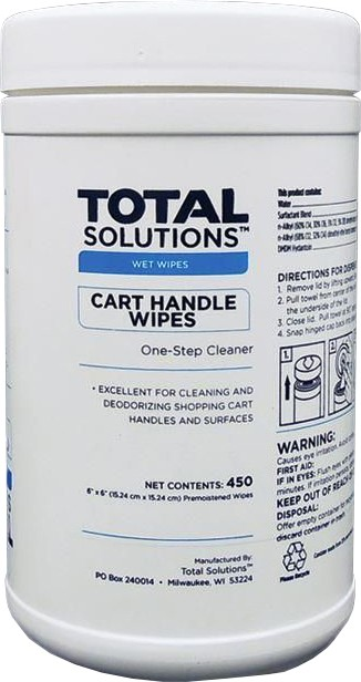 Cart Handle Wipes TOTAL SOLUTIONS #WH001574CH0