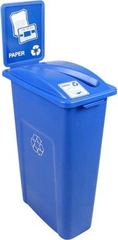 Single Container for Paper Waste Watcher #BU101037000