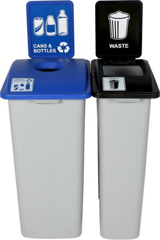 Duo Containers Cans and Waste Waste Watcher XL, 55 gal #BU101326000