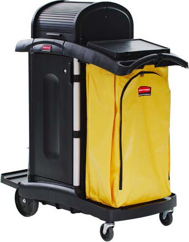 9T75 janitor cleaning cart high security #RB009T75NOI