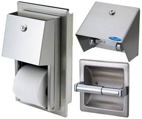 Regular Toilet Tissue Dispensers Frost Cleaning Supplies